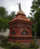 Gayarre Place Monument